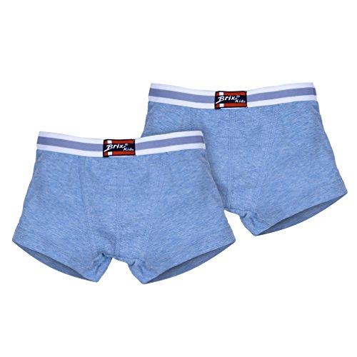 Toddler Boys Boxer Briefs - Underwear Super Soft Cotton Chambray Briefs 2 Pack.