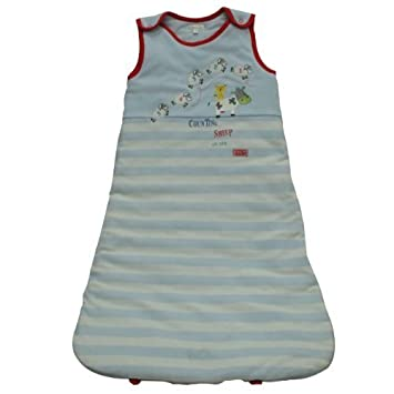 Amazon.com: Pitter Patter – Saco de dormir para bebé (azul ...