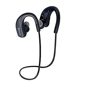 Wireless Earphone, SQDeal New Neckband Sweatproof Stereo Headphones Bluetooth Stereo Headset Over-Ear Earbuds Headphones Cordless for iPhone Samsung Lg Phones