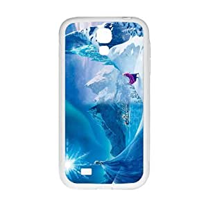 Happy Frozen Princess Elsa and Anna Cell Phone Case for Samsung Galaxy S4