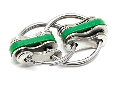 Noah Fidget Toy - As Seen on Shark Tank - ADD/ADHD, Stress, Anxiety, Adults, Kids, School & Office, As Seen on Shark Tank | Split Rings | Size M