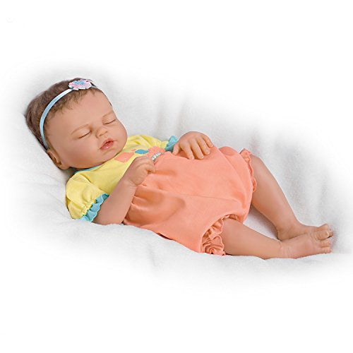 Baby of Mine So Truly Real® Lifelike & Realistic Weighted Newborn Baby Doll 17-inches by The Ashton-Drake ()
