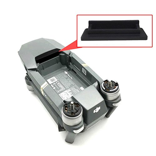 Exposed Bracket Support (Transer Body Battery Contact Port Dust Plug Protector Cover For DJI Mavic Pro)
