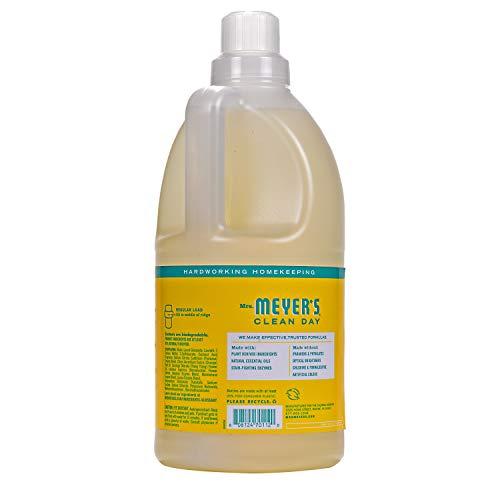 Mrs Meyer S Clean Day Laundry Detergent Honeysuckle 64