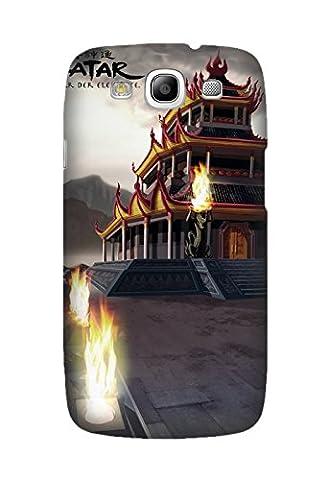 Samsung Galaxy S3, Samsung i9300/i9308/i9305 Case, Avatar: The Last Airbender Customize Phone Case for Samsung Galaxy S3, Samsung (Avatar Phone Case Galaxy S3)