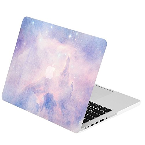 TOP CASE – Watercolor Art Series Rubberized Hard Case for MacBook Pro 13