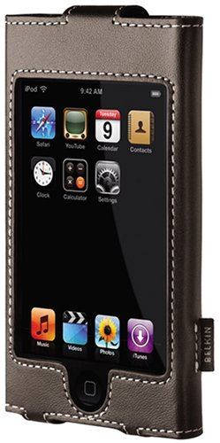 Belkin Leather Sleeve Case for iPod touch 1G (Chocolate)