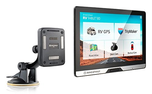 RAND MCNALLY 528013475 RV TABLET 80 by Rand McNally