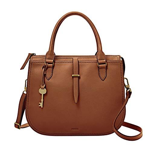Fossil Women's Ryder Leather Satchel Purse Handbag 7