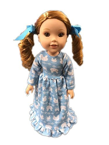 My Brittany's Bunny Nightgown For American Girl Dolls Wellie Wishers Brittany' s