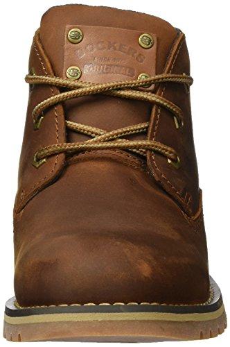 Dockers by Gerli 39wi002-401340, Zapatillas de Estar por Casa para Hombre Marrón - Braun (hellbraun 340)