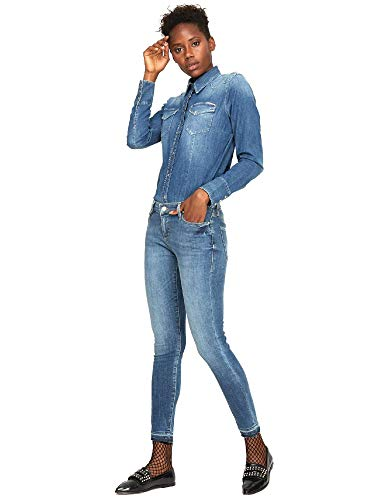 Azul 355652 Jeans Gas 26 Mujeres T8qtS
