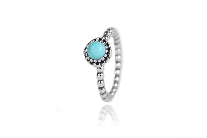 73643b062 Pandora Birthday Blooms December Turquoise Ring 190854tq-56 / Size 7.5:  Amazon.ca: Jewelry