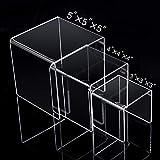 MaxGear Acrylic Display Risers for Funko Pop