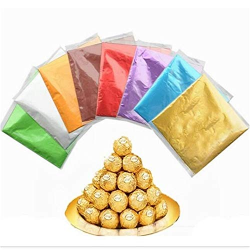 100 Pcs lot Confectionary Square Sweets Candy Package Foil Paper Sheets Chocolate Lolly Party Foil Wrappers Purple