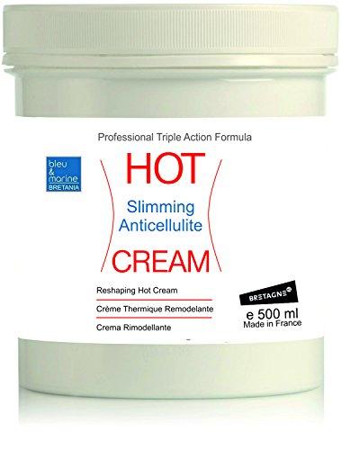 HOT CREAM Professional Triple Action Formula 500 ml  Slimming Fat...