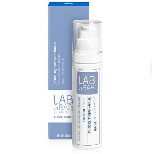 LabGrab Serum-Hydrate/Radiance Lightweight Hydrating Serum Moisturizer with Hyaluronic Acid, Rosehip Oil and Liquid Silk, 1.7 Fl Oz