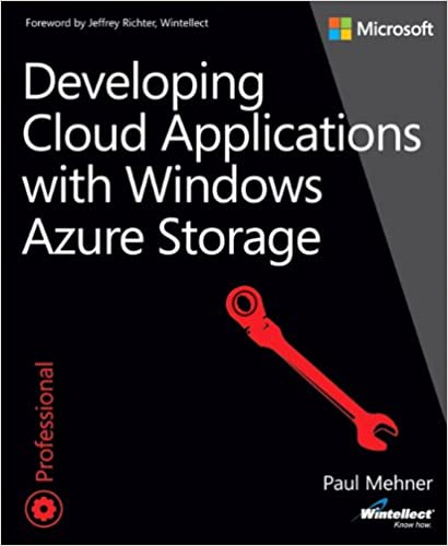 Book Developing Cloud Applications with Windows Azure Storage