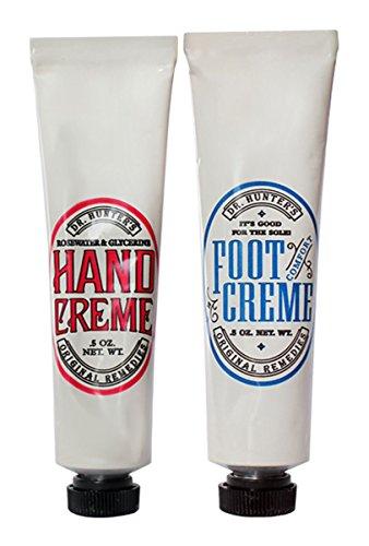 - Dr. Hunter's Mini Hand & Foot Creme Combo Set - Set of 2-0.5 Oz Each