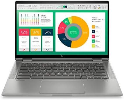 HP Chromebook x360 10th Gen Intel Core i3 14″ (35.56cms) Laptop (i3-10110U/4GB/64GB SSD/Chrome OS/Integrated Graphics, Mineral Silver), 14c-ca0004TU