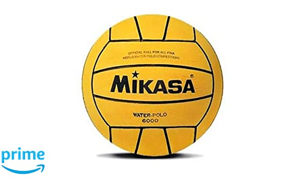MIKASA 6000 Balón de Waterpolo, Unisex Adulto, Amarillo, 5: Amazon ...