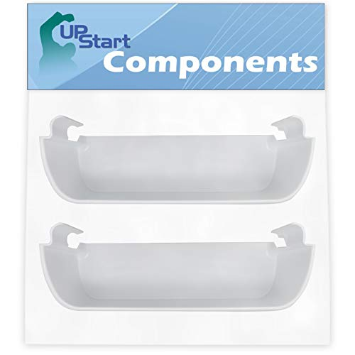 2-Pack 240323001 Refrigerator Door Bin Replacement for Frigidaire Refrigerator - Compatible with Part Number AP2115741, 240323007, 890954, AH429724, EA429724, PS429724