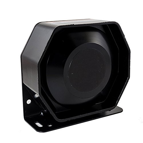 Hex Autoparts Universal 200W 12V Compact Loud Speaker PA System Horn Emergency Warning Siren