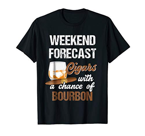 Cool Shirt For Cigars And Bourbon Lover. Gift For Grandpa.