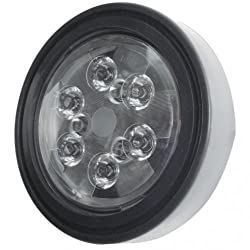 "LED Replacement Headlight - 18W 5.25"" Round T"
