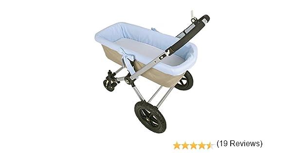 Funda interior azul para capazo de bebé: Amazon.es: Bebé