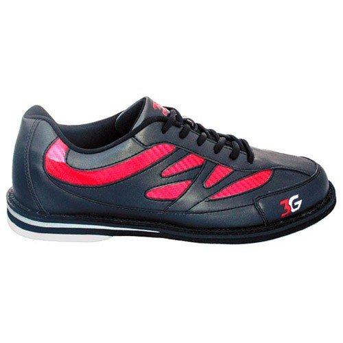 3 GメンズシボレークルーズBowling shoes-ブラック/レッド B071RCQSQ6 5 M US|ブラック/レッド ブラック/レッド 5 M US