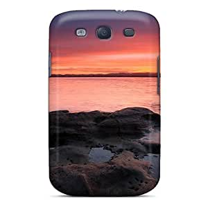 High-quality Durable Protection Case For Galaxy S3(fishing At Dusk)