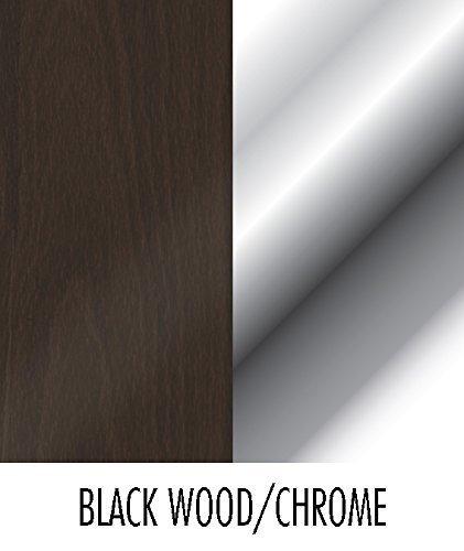 Spectrum Diversified 53204 Four Hook Key Rack, Black/Chrome