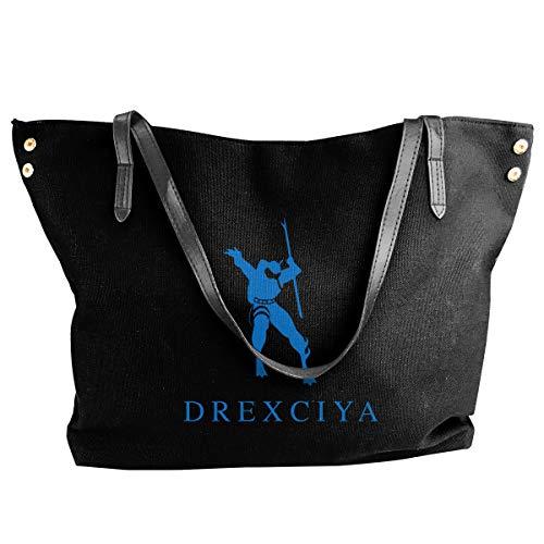 - Fashion Drexciya Detroit Techno Electro Shoulder Bag Canvas Handbags Tote Bag