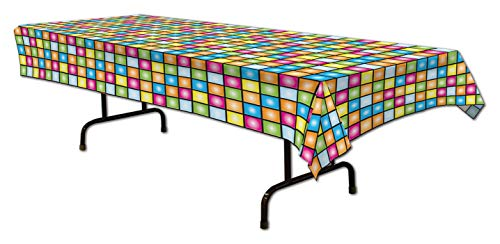 Disco Tablecover Party Accessory (1 count) -