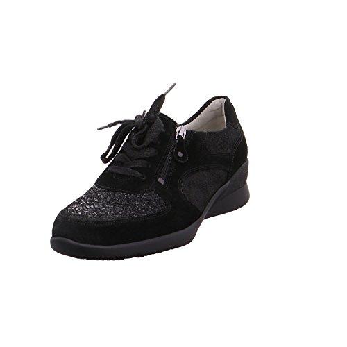 Waldlã¤ufer Waldlã¤ufer Sneaker Sneaker Schwarz Schwarz Hirokas Hirokas rqtrBw