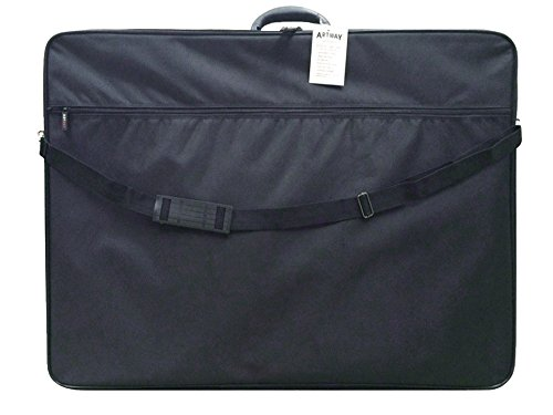 -[ Artway - Portfolio Carry Case - Shoulder and Internal Straps - Internal and External pockets - A