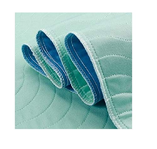 BELLA KLINE DESIGN Extra Absorbent Under Pad - Machine Washable - Waterproof Bed Underpad - 34 x 36