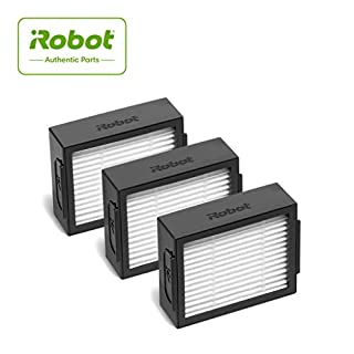iRobot Authentic Replacement Parts- Roomba e and i Series High-Efficiency Filter, (3-Pack),White - 4639161