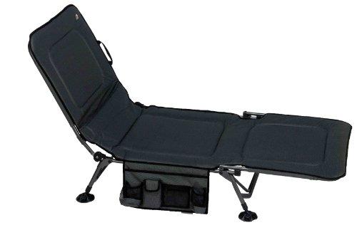 GCI Outdoor Luxury Camp Bed, Gray Tweed, Outdoor Stuffs