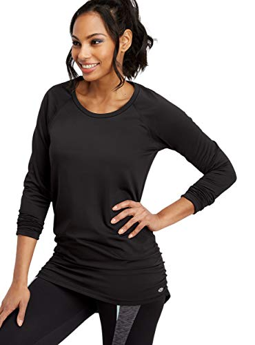 Cinched Top Side - maurices Women's Cinched Side Tunic Pullover Large Black