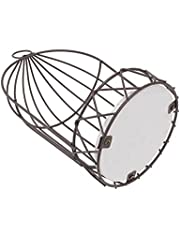 Amosfun Metal Birdcage with Tealight Holder Wall Hanging Bird Cage Ourdoor Decoration for Succulent Holder Wedding Party Decor