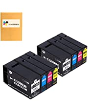 F FINDERS&CO Compatible PGI-1200XL PGI1200 XL Pigment Ink Cartridges Replacement for Canon PGI-1200 XL 1200XL Ink Work with Canon Maxify MB2320 MB2720 MB2020 MB2120 (2BK, 2C, 2M, 2Y)
