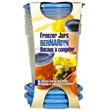 Bernardin Freezer Jars - Plastic - 32 oz