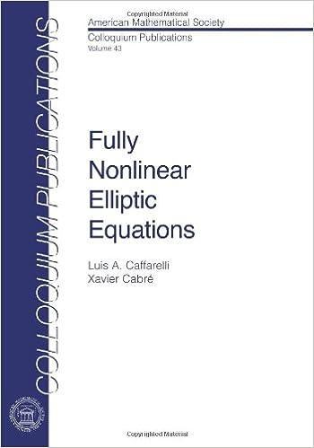 Fully Nonlinear Elliptic Equations (Colloquium Publications