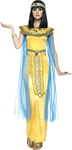 Male Goddess Costume (Golden Cleo Egyptian Adult Costume (Small/Medium))