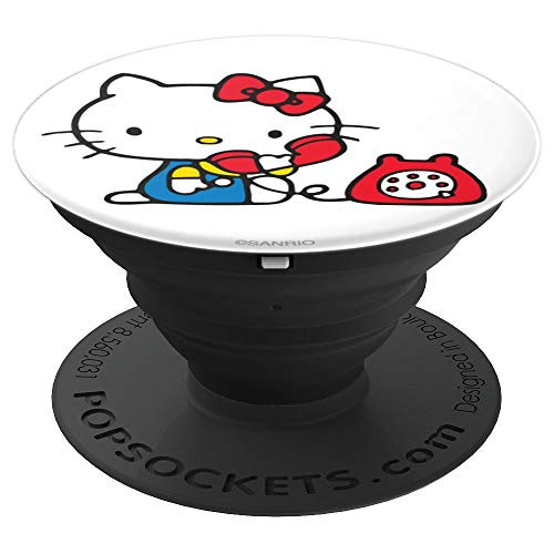Hello Kitty Retro Telephone - PopSockets Grip and Stand for Phones and Tablets