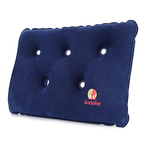 Andake Versatile Inflatable Pillow Lumbar Support Cushion