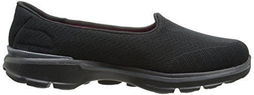 Slip On Walk Skechers 3 Shoe Walking Performance Go Black Women's Insight waqw6gSx1