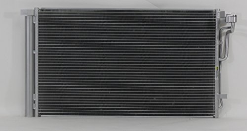 Hyundai Elantra A/c Condenser - A-C Condenser - Cooling Direct For/Fit 30030 17-17 Hyundai Elantra With Receiver & Dryer Parallel Flow
